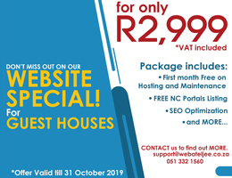 Website Special for Guest Houses | Kathu Accommodation, Business & Tourism Portal